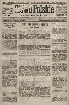Słowo Polskie. 1925, nr25