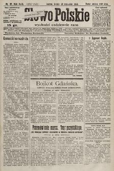 Słowo Polskie. 1925, nr27