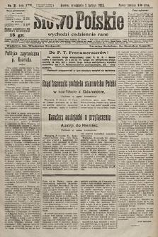 Słowo Polskie. 1925, nr31