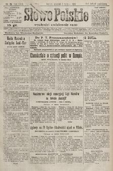 Słowo Polskie. 1925, nr33