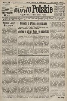 Słowo Polskie. 1925, nr42