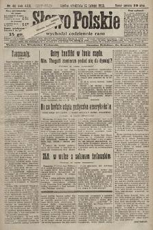 Słowo Polskie. 1925, nr45