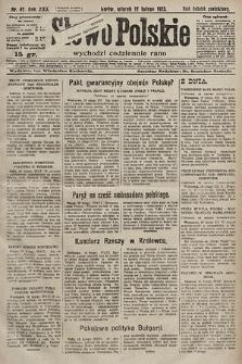 Słowo Polskie. 1925, nr47