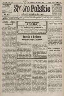 Słowo Polskie. 1925, nr49