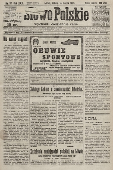 Słowo Polskie. 1925, nr72
