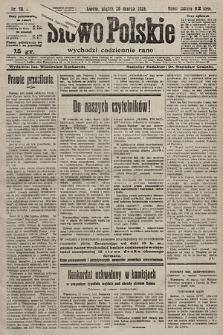 Słowo Polskie. 1925, nr78
