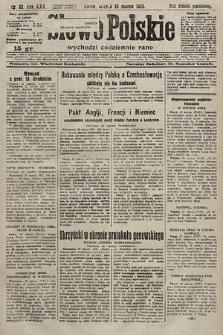 Słowo Polskie. 1925, nr82
