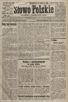 Słowo Polskie. 1925, nr107