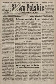 Słowo Polskie. 1925, nr115