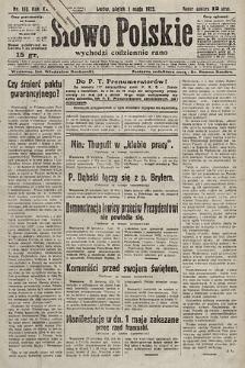 Słowo Polskie. 1925, nr118