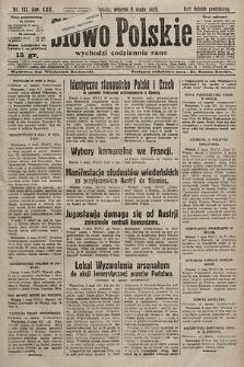 Słowo Polskie. 1925, nr121
