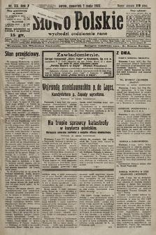 Słowo Polskie. 1925, nr123
