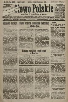Słowo Polskie. 1925, nr170
