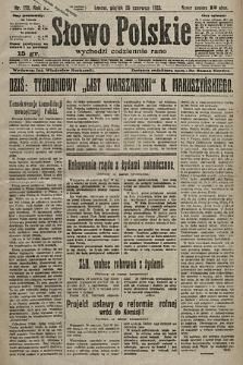 Słowo Polskie. 1925, nr172