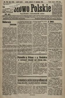Słowo Polskie. 1925, nr173
