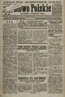 Słowo Polskie. 1925, nr175