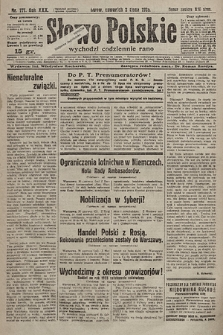Słowo Polskie. 1925, nr177