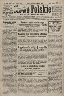 Słowo Polskie. 1925, nr185