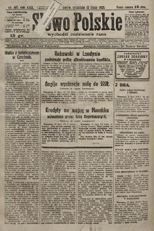 Słowo Polskie. 1925, nr187
