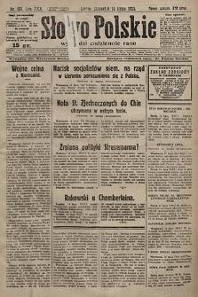 Słowo Polskie. 1925, nr191