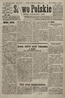 Słowo Polskie. 1925, nr198