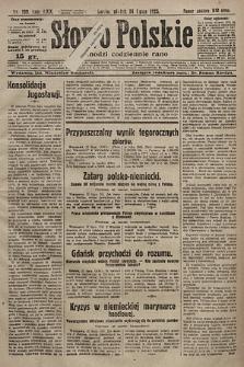 Słowo Polskie. 1925, nr199