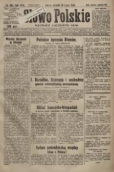 Słowo Polskie. 1925, nr203