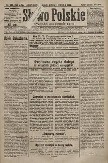 Słowo Polskie. 1925, nr207
