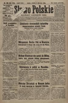 Słowo Polskie. 1925, nr210