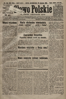 Słowo Polskie. 1925, nr216