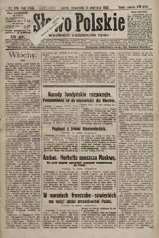 Słowo Polskie. 1925, nr219