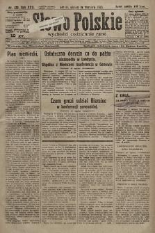 Słowo Polskie. 1925, nr220