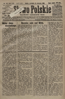 Słowo Polskie. 1925, nr222