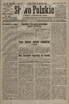 Słowo Polskie. 1925, nr227