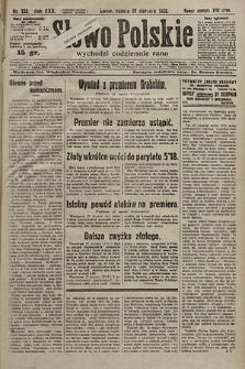 Słowo Polskie. 1925, nr235