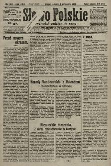 Słowo Polskie. 1925, nr242