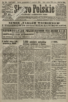 Słowo Polskie. 1925, nr244