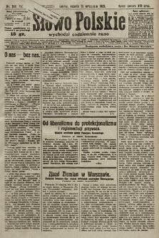 Słowo Polskie. 1925, nr249