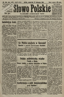 Słowo Polskie. 1925, nr254