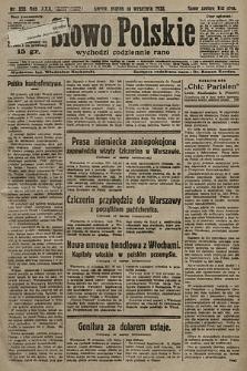 Słowo Polskie. 1925, nr255