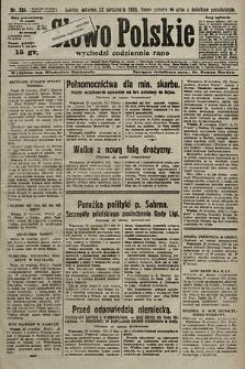 Słowo Polskie. 1925, nr259