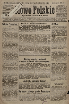 Słowo Polskie. 1925, nr268