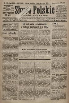 Słowo Polskie. 1925, nr271