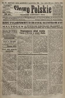 Słowo Polskie. 1925, nr272