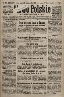 Słowo Polskie. 1925, nr273