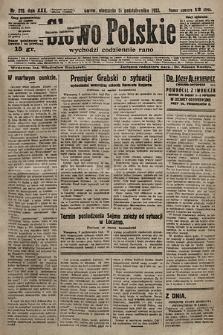 Słowo Polskie. 1925, nr278