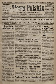 Słowo Polskie. 1925, nr279