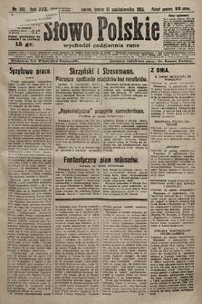 Słowo Polskie. 1925, nr281