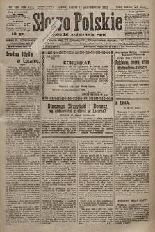 Słowo Polskie. 1925, nr284
