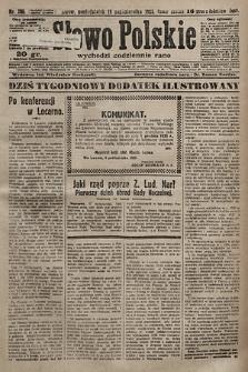 Słowo Polskie. 1925, nr286